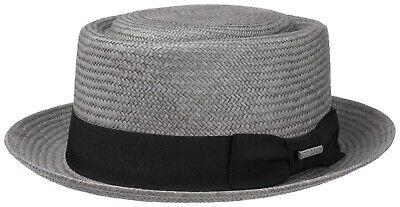 Stetson Summer Toyo Straw Pork Pie Hat Hats Diamond Riverside 33 New Trend