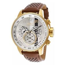 Invicta Men's 19287 S1 Rally Analog Display Swiss Quartz Brown Watch