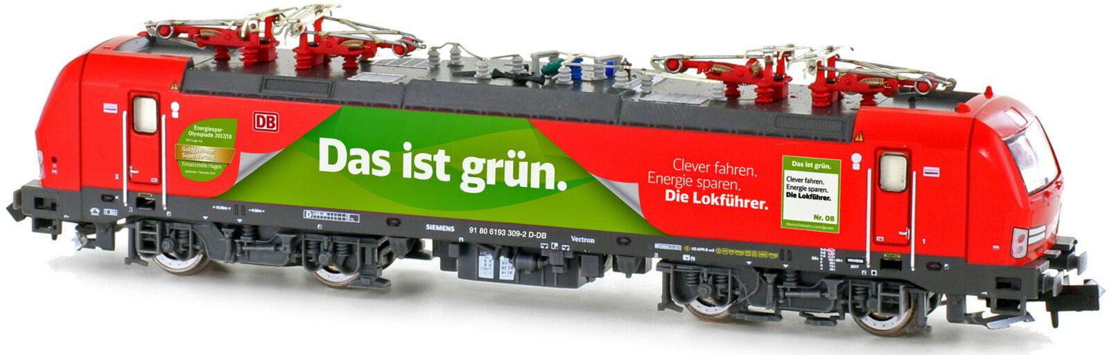 Hobbytrain 2996s Digital Sound br193 Vectron DB Cargo,  questo è verde  Novità