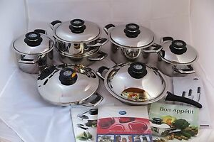 AMC-Saucepan-18-Pieces-Secuquick-Staline-Pot-Pan-Pots-Induction