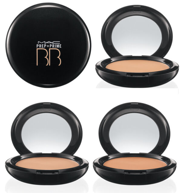 MAC prep + prime BB Beauty balm compact SPF 30 light New in box