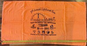 Save the Sabine Pass Lighthouse/3rd Annual Lighthouse Run Beach Towel