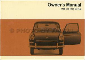 1966 1967 vw fastback squareback type 3 owner manual nos volkswagen rh ebay ie Service Manual for Volkswagen Beetle Volkswagen Owners Manual PDF