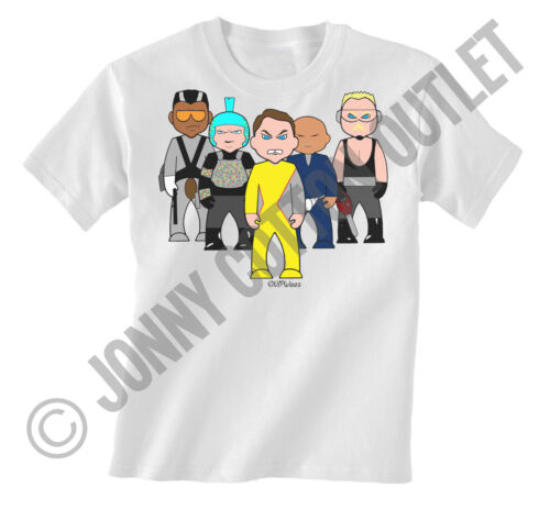 VIPwees Childrens Unisex T-Shirt 80`s Classic Movies Inspired Choose Your Design