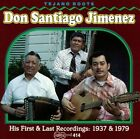 His First and Last Recordings by Don Santiago Jimenez, Sr. (CD, 1994, Arhoolie)