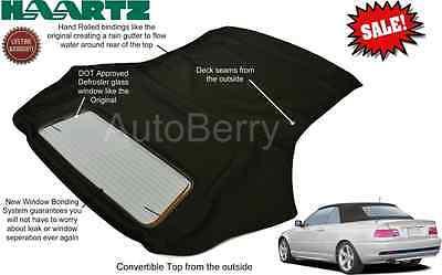 BMW E46 325Ci 330Ci 323 M3 Stayfast Cloth Convertible Soft Top 00-06 3 Series