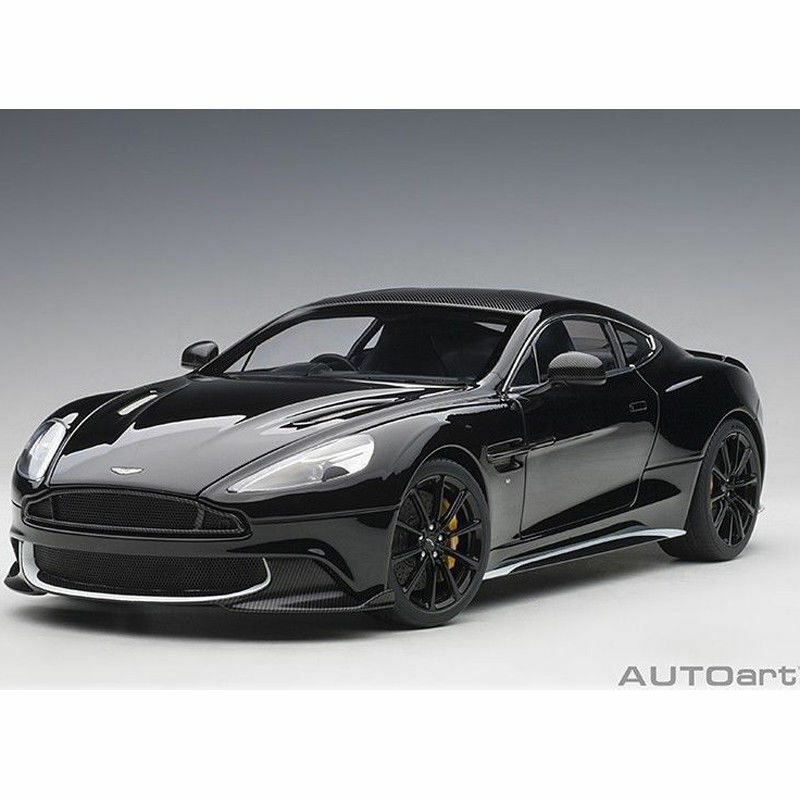 1 18 Autoart 70271 Aston Martin Vanquish S 2017 (Onyx nero bianca accents)