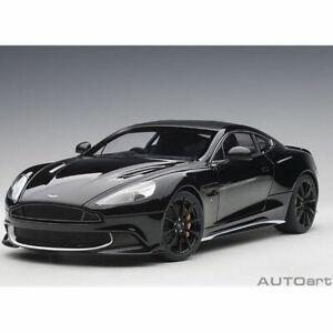 1-18-Autoart-70271-Aston-Martin-Vanquish-S-2017-Onyx-Negro-Blanco-Accents