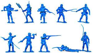 Marx Civil War Union Infantry Medium Blue