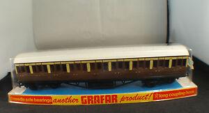 Grafar-GB-Wagon-voyageurs-First-third-class-en-HO-neuf-en-boite-MIB