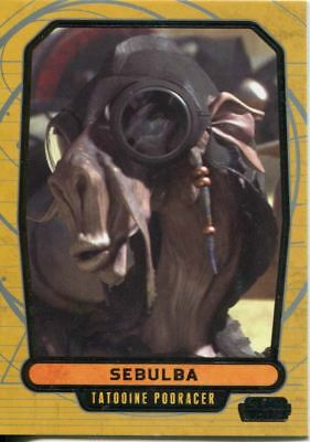 Star Wars Galactic Files Series 1 Base Card #350 Ewok