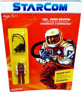 Figurine Starcom ™ Col. John Griffin - Vintage 1986 Mosc Nouveau!   Afa It!   76930013021