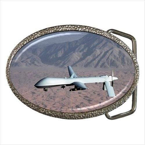 MQ-1 Airforce Predator Drone Belt Buckle