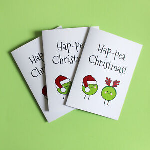 Details About Funny Christmas Card Pack 3 Cards Friends Of Henry Happea Christmas Pun