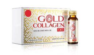 Minerva Gold Collagène Forte Complément Acide Hyaluronique Over 40 Drink 10x50ml