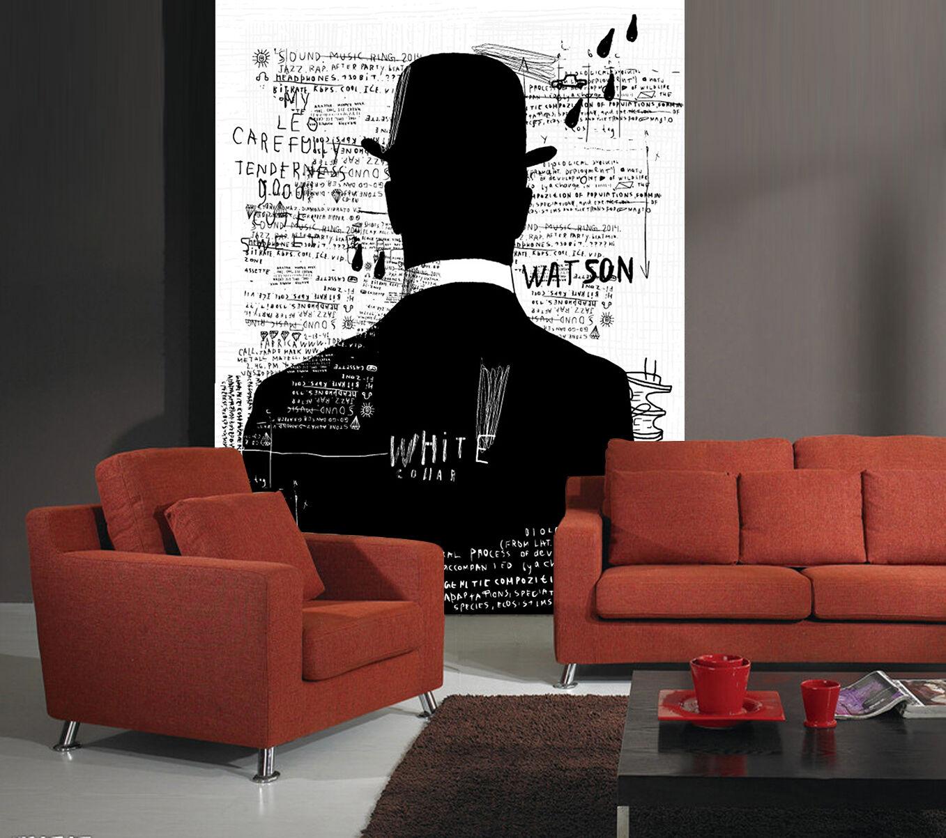 3D Schwarze 454 Fototapeten Wandbild Fototapete Bild Tapete Familie Kinder