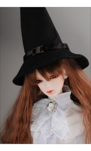 Witch cone Hat 8-9 Dollmore New Black