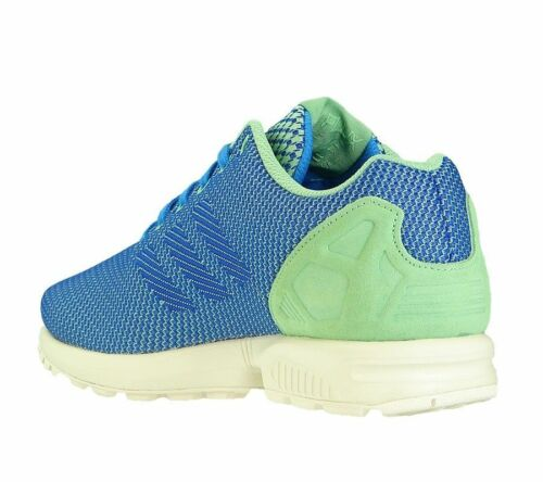 Green Shoes Sneakers AF6294 Adidas ZX Flux Weave Men/'s Trainers Blue