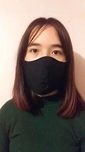 Washable Black White Face Mask Made In Australia Ebay