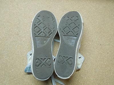 Original Converse All Star U.K. Größe 6 1/2 Weiß Schuhe