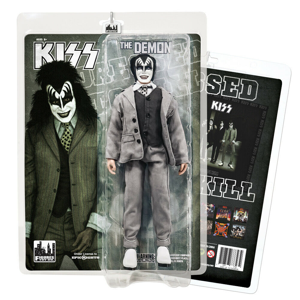 KISS 12 Inch Action Figures Dressed To Kill Re-Issue Series  The Demon