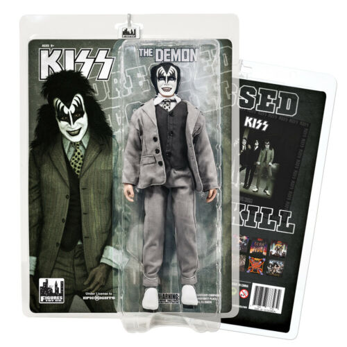 KISS 12 Inch Action Figures Dressed To Kill Re-Issue Series: The Demon