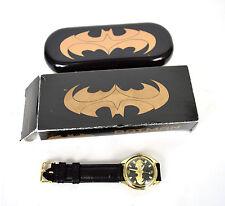 Fossil Batman & Robin Gold Wrist Watch LTD 1000 Box Tin LI-1609 Comic