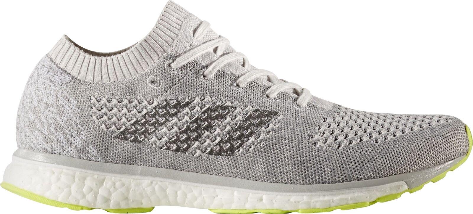 Adidas Adizero Primeknit Boost Running shoes Grey Unisex Mens Womens Trainers