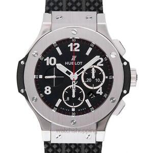 HUBLOT Big Bang 301.SX.130.RX Black Dial Men's Watch Genuine FreeS&H
