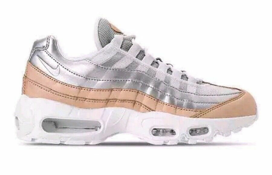 Nike Air Max 95 SE PRM Special Edition AH8697-002 Women's US 8.5 Platinum  170