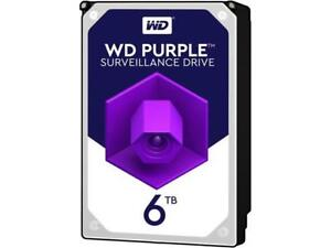 WD Internal Hard Drive WD60PURZ 6TB 5400 RPM 64MB Cache