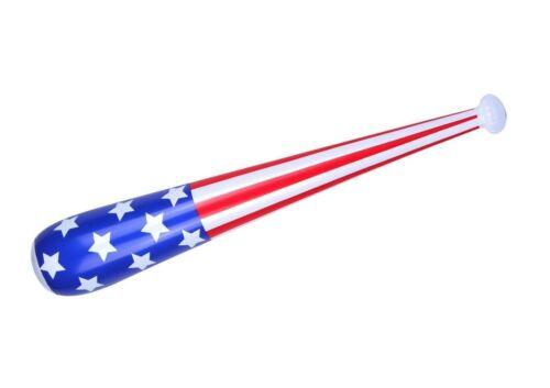 85cm BAT AMERICAN BASEBALL INFLATABLE Fancy Dress USA Prop Accessory Decoration