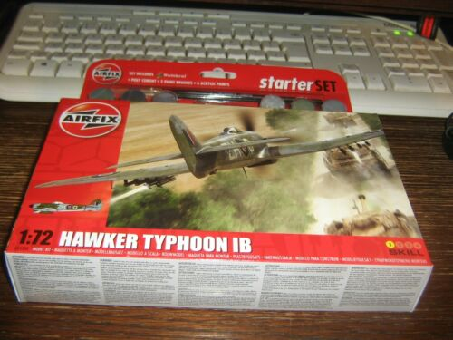 Airfix Model Kit-Hawker Typhoon 1B Niveau 1 1:72