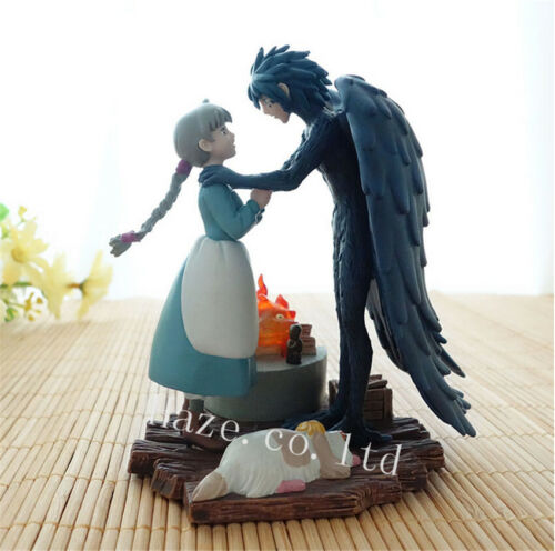 Animation Howl/'s Moving Castle Howl /& Sophie Classic PVC Figure Toy Collection
