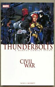 GN-TPB-Civil-War-Thunderbolts-collected-vf-nm-9-0-2007-Fabian-Nicieza-1st