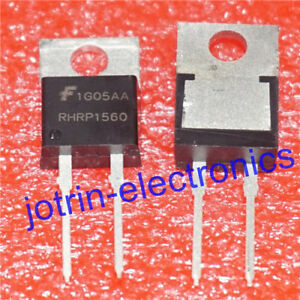 10PCS-RHRP1560-TO-220-2-HYPERFAST-DIODE-15A-600V-Transistor