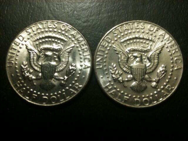 1986 P/&D  Kennedy Half Dollars