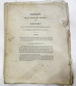 INTROUVABLE-FOUILLES-DE-LANDUNUM-PRES-DE-VERTAUT-COTE-D-039-OR-EO-1863