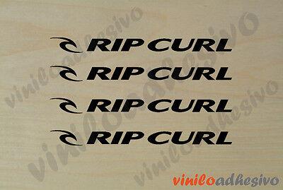 Pegatina Sticker Vinilo Rip Curl Lineal Surf Ripcurl Autocollant Aufkleber