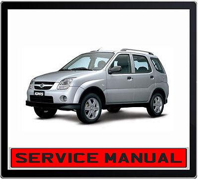 suzuki ignis 4x4 service manual