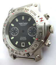 CASE stainless stee AND DIAL FOR THE WATCH Chronograph 3133  POLJOT