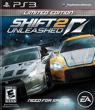 Shift 2: Unleashed -- Limited Edition (Sony PlayStation 3, 2011)