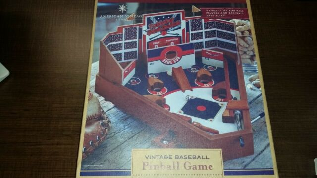 Blackjax American Vintage Style Baseball Pinball Tabletop Game brand new in box