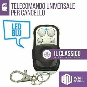 TELECOMANDO CANCELLO AUTOMATICO UNIVERSALE 433,92 MHZ CAME FADINI NICE BFT DITEC