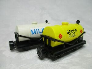 Thomas-amp-Friends-BANDAI-Tank-Engine-Collection-Series-MILK-amp-SODOR-FUEL-1997