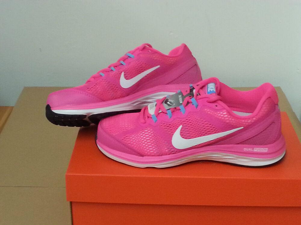 Nike Wmns Dual Dual Dual Fusion courir 3 Sneaker Femmes [653594 600] 38 - 38,5 Nouveau neuf dans sa boîte- 9633f1
