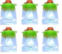 Reusable Baby Toddler Or Adult Food Pouch (6 Pack), Buy 4 Lots Get 40% Off
