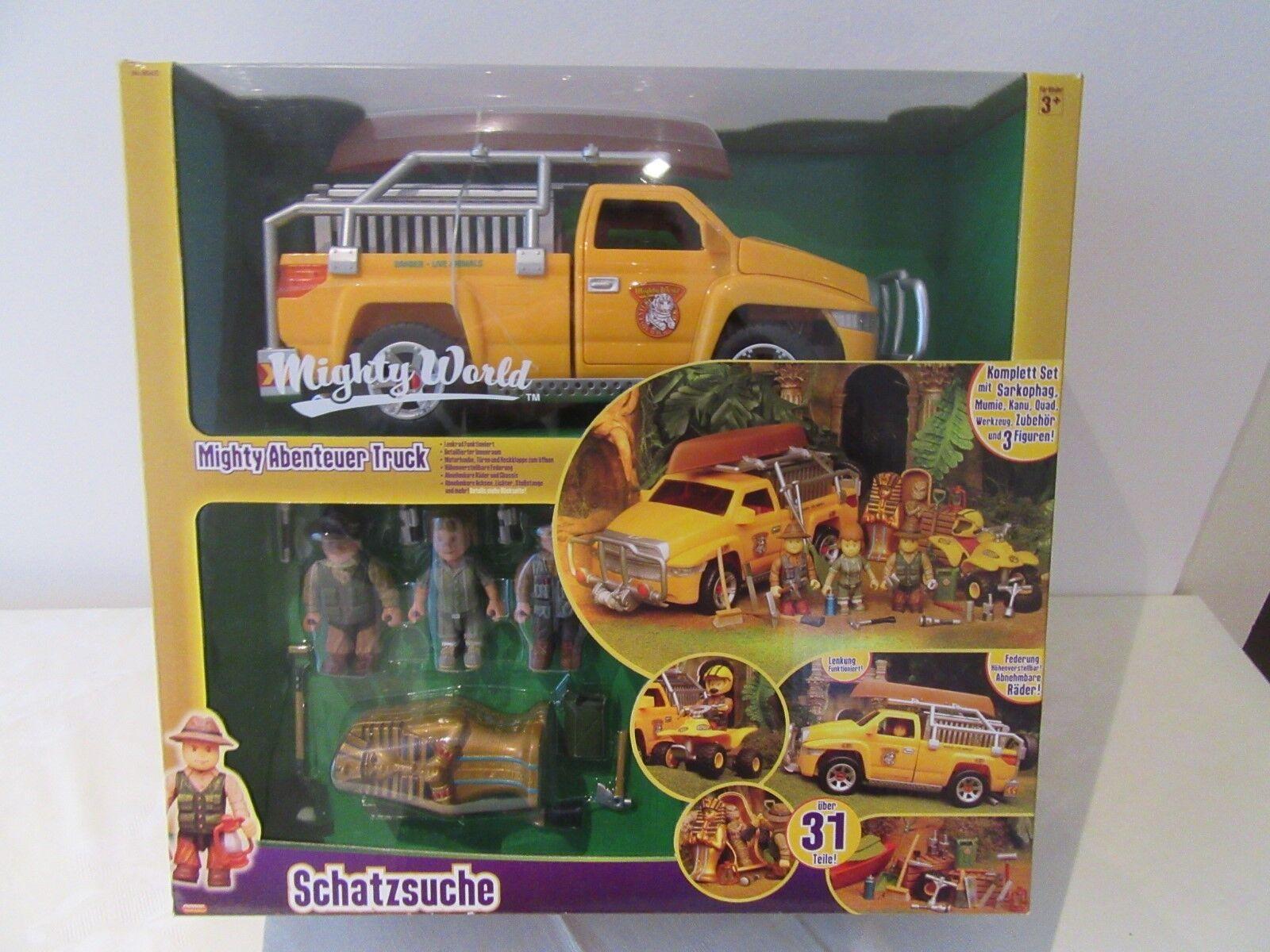 Mighty world toys  avontuur met truck.