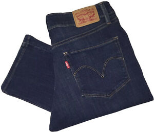Levi-039-s-Mid-Rise-Skinny-Jeans-Groesse-Us-8-Uk-29