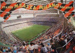 Stadionpostkarte Stadium Postcard Stadio Meazza San Siro